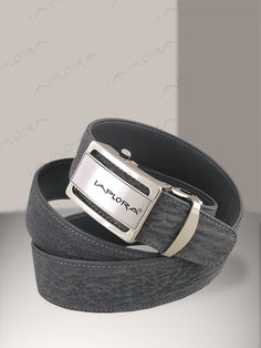 Implora Gray Shark Skin Belt 1.5W