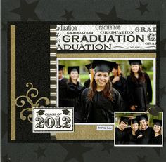 Prom Scrapbook Layouts Reminisce 1000 Pages To Scrapbook Before You Die Senior Year Scrapbook, Graduation Scrapbook, School Scrapbook Layouts, Graduation Cards, Scrapbook Sketches, Scrapbooking Layouts, Scrapbook Cards, Digital Scrapbooking, Vacation Scrapbook