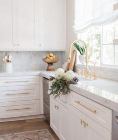 Get colorful, preppy decor inspiration from Julia Dzafic of Lemon Stripes.