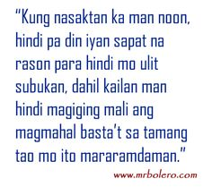 "Here is great collection of Interesting And Inspirational Quotes for you.Just scroll down and keep reading these ""Top Bisaya Quotes About Crush – Favorite Strength Quotes To Live By "" Filipino Quotes, Pinoy Quotes, Tagalog Love Quotes, Bisaya Quotes, Crush Quotes, Quotable Quotes, Love Sayings, Sad Love Quotes, Quotes To Live By"