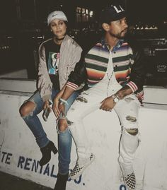 Nazanin and Miguel