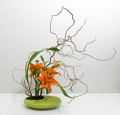 Post Instructor Course - 2 Curving Lines by The Flower Sculptor, via Flickr