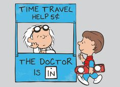 The Doctor Is In T-Shirt | SnorgTees  Take me Back To The Future :)