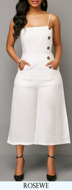 Bottoms For Women White Fashion, Girl Fashion, Fashion Outfits, Womens Fashion, Trendy Dresses, Trendy Outfits, Lässigen Jeans, Casual Jeans, Romper Outfit