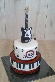 Guitar Cake Ideas