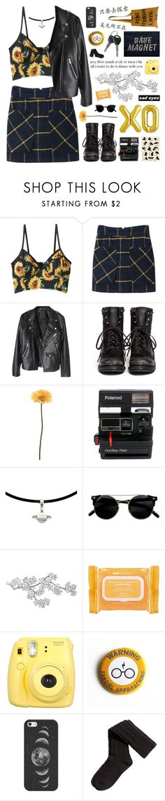 """Babe Magnet"" by rockgirlfriend15 ❤ liked on Polyvore featuring Ash, Gerber, Polaroid, GE, xO Design, Ole Henriksen, Fujifilm, Casetify, H&M and Acne Studios"