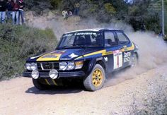 Rally Elba 1977 - Saab99EMS:
