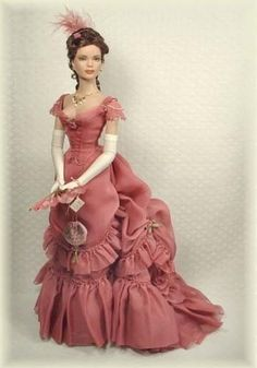 Barbie dolls residences, all aspects conventional wooden residences to effectively Barbie Dreamhouses. Barbie Gowns, Barbie Dress, Barbie Clothes, Pretty Dolls, Cute Dolls, Beautiful Dolls, 1800s Fashion, Victorian Fashion, Vintage Barbie