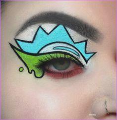 Indie Makeup, Edgy Makeup, Makeup Eye Looks, Eye Makeup Art, Crazy Makeup, Cute Makeup, Eyeshadow Makeup, Fairy Makeup, Mermaid Makeup