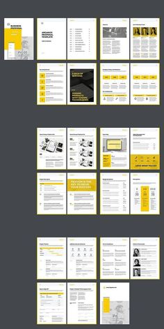 How To Start A Business Discover Company Proposal Template Graphic Design Brochure, Corporate Brochure Design, Brochure Layout, Brochure Template, Indesign Templates, Adobe Indesign, Indesign Free, Free Brochure, Presentation Design