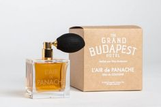 """L'AIR DE PANACHE COLOGNE FOR WES ANDERSON'S """"THE GRAND BUDAPEST HOTEL"""". http://www.selectism.com/2014/03/07/lair-de-panache-cologne-for-wes-andersons-the-grand-budapest-hotel/"""