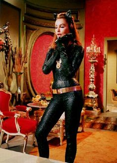 vintagegal: Julie Newmar as Catwoman on the Batman TV series, Catwoman Cosplay, Batman Et Catwoman, Cosplay Gatúbela, Original Catwoman, Batman 1966, Batman Robin, Batgirl, Batman Cast, Julie Newmar