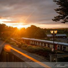REPOST: Fab sunset from @paulduanephotographyireland  Sunset at Glenlo Abbey in Galway.  #… http://ift.tt/1FH7EDP