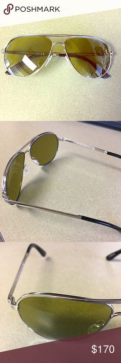 cd058e02e50 Shop Women s Tom Ford Silver size OS Sunglasses at a discounted price at  Poshmark. Description  Authentic Tom Ford Shiny metal frame with polarized  lenses.