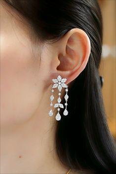 Diamond earrings Asscher Cut Diamond Engagement Ring, Diamond Cuts, Diamond Earrings, Jewelry, Jewlery, Jewerly, Schmuck, Jewels, Jewelery