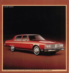 1980 Oldsmobile 98 Luxury Sedan