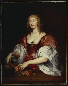 Countess of Carnavon  Artist:  Sir Anthony van Dyck