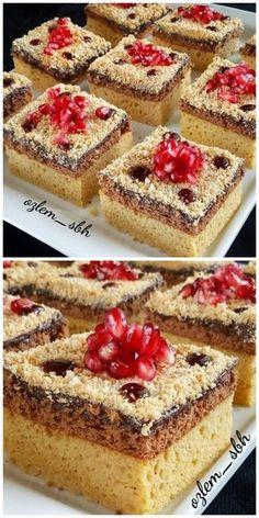 KIŞ KEKİ TARİFİ Apple Desserts, No Bake Desserts, Dessert Recipes, Pastry Recipes, Cookie Recipes, Bake Sale Displays, Recipe Mix, Pudding Recipes, Perfect Food
