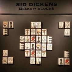 Spring 2017 Inspiration Collection on display in our showroom at the Las Vegas Market. We are open until 6pm tonight and will be back again tomorrow morning starting at 8am so be sure to stop by if you're attending!  We are in Building C on the 5th floor in Showroom C538D!  #siddickens #memoryblocks  #handmade #art #lasvegas #tradeshow #showroom #travels