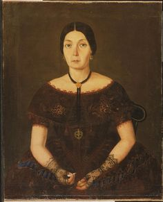 Portrait of the Countess of Canal  Artist/maker unknown, Mexican