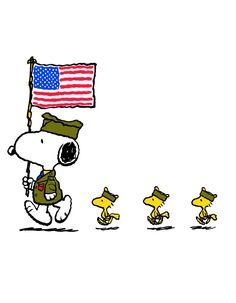 Snoopy & Veterans