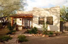 """This cute """"casita"""" is an eclectic southwestern neighborhood that dates back to the 1940s."""