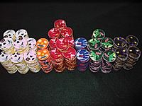 Remember these awesome Halloween chips? Poker Chips, Halloween, Floral, Flowers, Royal Icing Flowers, Flower, Flower, Florals, Spooky Halloween