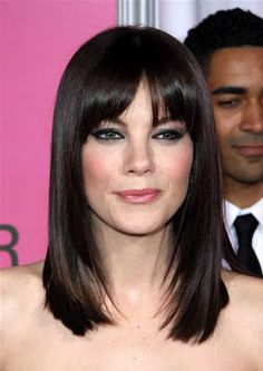 Hairstyles for Medium Hair with Bangs - Hairstyles with Bangs - Zimbio