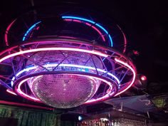 Sufit napinany w klubie nocnym. / The stretch ceiling in the nightclub. Nightclub, Ceiling, Ceilings, Trey Ceiling