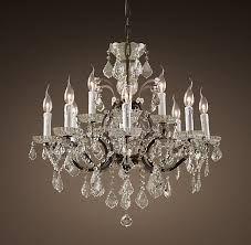 Restoration Hardware chandelier Rococo