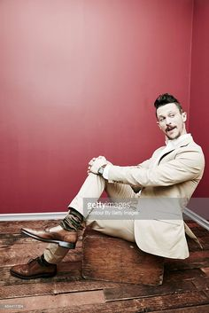 Actor Jonathan Tucker from DirectTV's 'The Kingdom' poses in the Getty Images Portrait Studio powered by Samsung Galaxy at the 2015 Summer TCA's at The Beverly Hilton Hotel on August 10, 2015 in Beverly Hills, California.