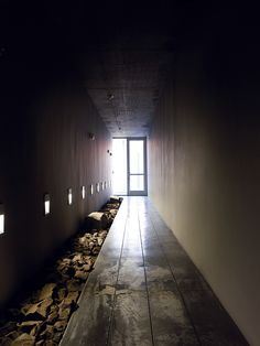 The Stones and Millers live a hallway apart. This hallway functions literally as a physical separation between their settlements but also metaphorically represents the distant emotional separation between these two couple's relationship as friends.