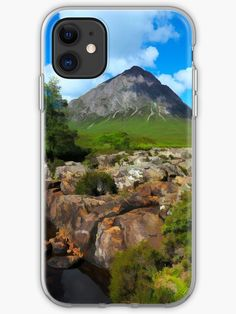 Buachaille Etive Mor in the Highlands of Scotland. Original image by David Rankin. Over 50 photo gifts including throw pillows, prints , t-shirts and phone cases Highlands, Original Image, Iphone Case Covers, Cover Design, Scotland, Photo Gifts, David, Throw Pillows, Artists