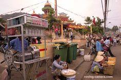 Street Vendors in Chau Doc, Vietnam