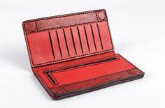 Cartera de mujer accesorio artesanal de cuero natural regalo original elegante: Amazon.es: Hogar