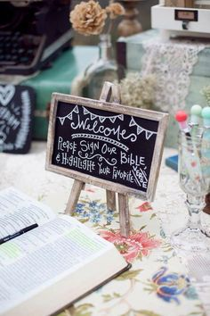 What great wedding idea. Especially if you have a very Christian church oriented family like I do. I would love to see which Bible verses the choose