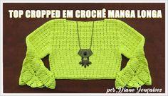 TOP CROPPED MANGA LONGA- PARTE I