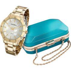 Relógio Feminino Mondaine Analógico Fashion 94870lpmkde1k1