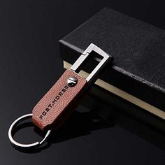 Custom Keychains,Liangery Mini Flexable Folding Key Chain Rings For Cars Luxury Business Gift Key Chain Rings Mens Keychains, Key Keychain, Cool Keychains, Leather Keyring, Key Chain Rings, Cow Leather, Personalized Items, Cars, Amazon