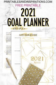 Planner Pdf, Goals Planner, Planner Template, Year Planner, Agenda Planner, Academic Planner, Planner Ideas, Goals Printable, Monthly Planner Printable