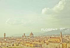 Panoramic view of #Florence. Explore more places worth visiting in #Italy with #sisterMAG n°7. Photo: Sivan Askayo