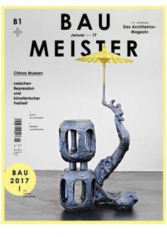 BAUMEISTER : zeitschrift für architektur, planung, umwelt. nº 1-2017. SUMARIO: http://www.baumeister.de/zeitschriften/baumeister-0117/