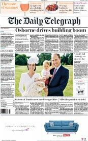 The Daily Telegraph, Cover