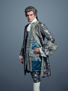 Stanley Weber as Le Comte St. Germain | 'Outlander' Season 2