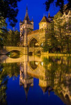Vajdahunyad castle in Budapest by Viktor Pap / 500px