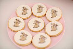 The CUTEST Bunny Cookies from a Belle & Boo Bunny + Hot Air Balloon Party via Kara's Party Ideas   KarasPartyIdeas.com (35)