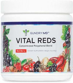 Vital Reds is the revolutionary formula developed by Dr. Steven Gundry that combines the power of 34 superfruits with natural fat-burning ingredients and probiotics for energy, digestion & skin support. Vital Reds Gundry, Dr Grundy, Fast Weight Loss, Lose Weight, Lectins, Healthy Cholesterol Levels, Tomato Nutrition, Plant Paradox, Younger Skin