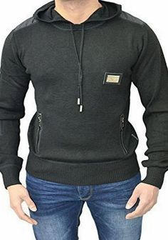 Emporium Mens Designer Emporium Jean EJ Slim Fit Hoodie Knitted Jumper Hooded Sweater Pullover Hood Top A fine Knit Jumper with Nylon Panelling on Shoulder and Elbow. Also Features Front 2 Zip Pockets. Excellent Quality Product. 100% Cotton. RRP £59.99. PIT TO PIT GUIDE:SML (Barcode EAN = 5055900493327) http://www.comparestoreprices.co.uk/december-2016-week-1/emporium-mens-designer-emporium-jean-ej-slim-fit-hoodie-knitted-jumper-hooded-sweater-pullover-hood-top.asp