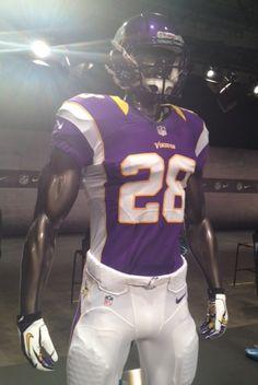 Nike NFL Uniform Minnesota Vikings