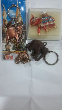 Gantungan kunci elephant